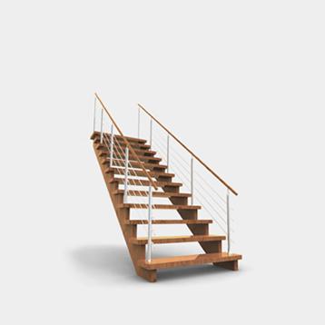výroba atypických schodů, schodišť, schody Valašsko