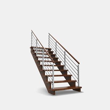 kombinované schody, realizace kvalitních schodů, schody valašsko
